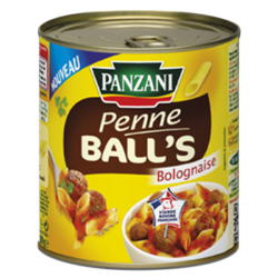 Penne balls bolognaise