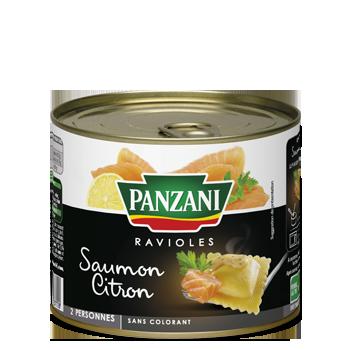 Ravioles saumon citron
