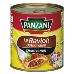 Raviolis bolognaise champignon