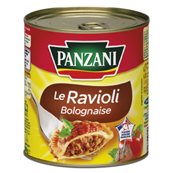 Raviolis bolognaise