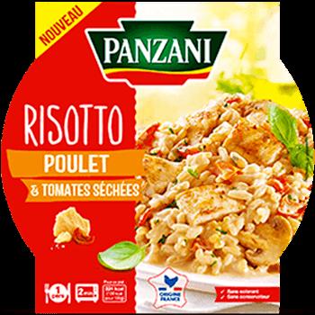 Risotto Poulet & Tomates séchées