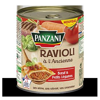 Ravioli à l'Ancienne Bœuf et Petits légumes